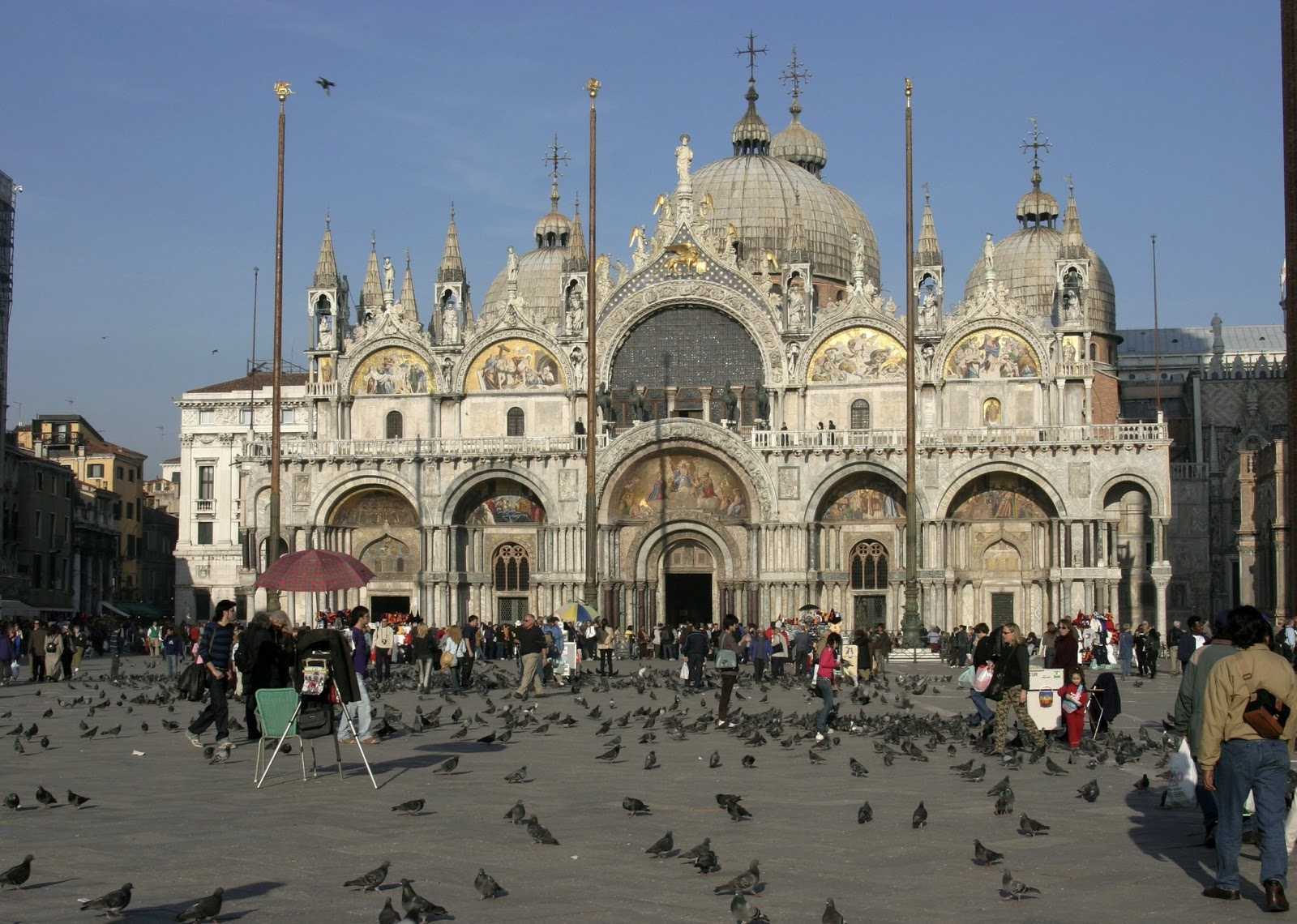Lugares Sacros: Basilica de san Marcos, Venecia