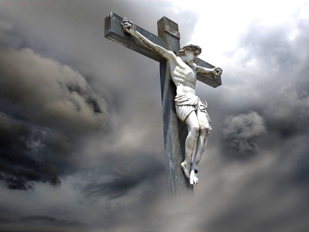 Jesus Christ On Cross Wallpaper