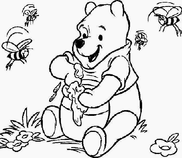 Winnie the Pooh coloring.filminspector.com
