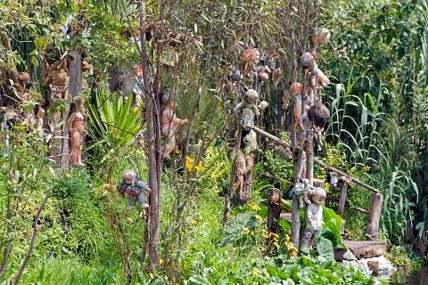 Pulau Boneka Seram di Meksiko
