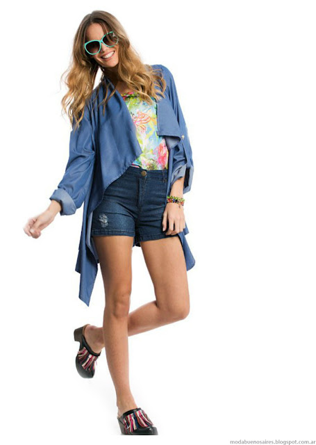 Ropa de verano moda 2016 City Argentina.