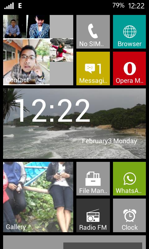 Cara Merubah Tampilan Android Menjadi Windows Phone 8