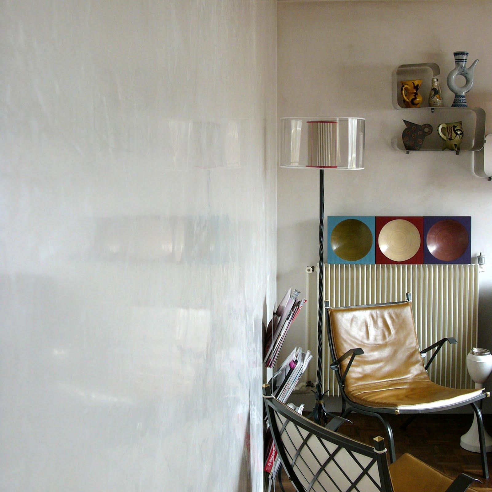 SABINE DÉCORS: stucco blanc nacré