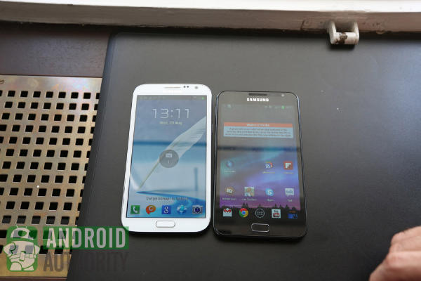 galaxy note 2 vs 1