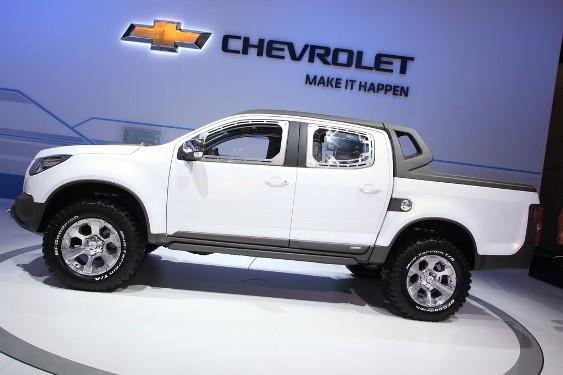 Carmon Carsidy Iaa 2011 Chevrolet Colorado 2012 Rally Concept Live