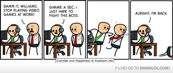 fight your boss