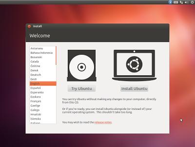 Cara Install Ubuntu 12.04
