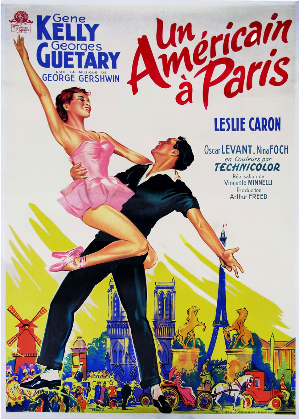 edge center for the arts an american in paris a movie that will make you wish you were there. Black Bedroom Furniture Sets. Home Design Ideas