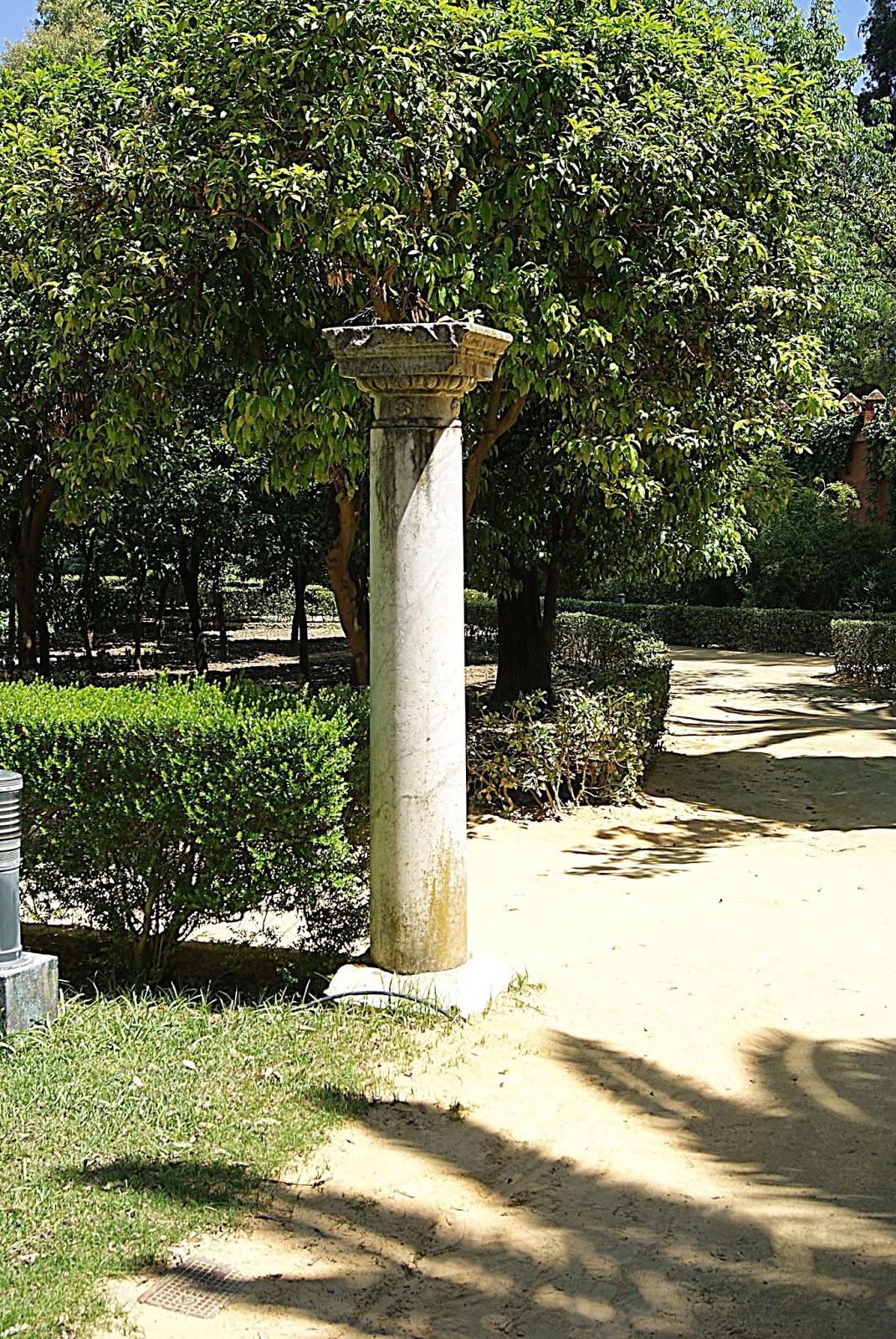 Leyendas de sevilla reales alc zares de sevilla viii for Ornamentacion de jardines