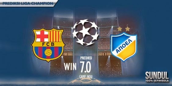 Djazmadz : Review Matchday Pembuka Grup F UEFA Champions League 2014/2015 Antara Barcelona Melawan APOEL