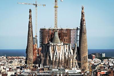 Katalónia, Barcelona, Sagrada Familia, Antoni Gaudí,