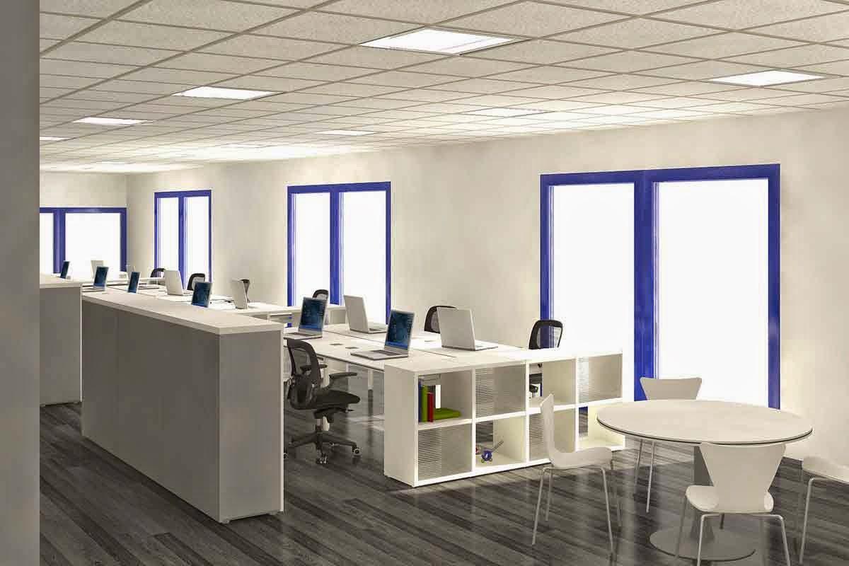 7 tata ruang kantor modern anugerah dino. Black Bedroom Furniture Sets. Home Design Ideas