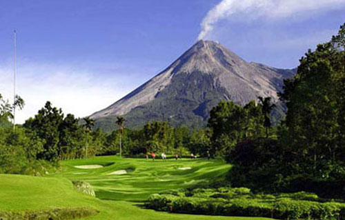 one klick: Merapi Mountain