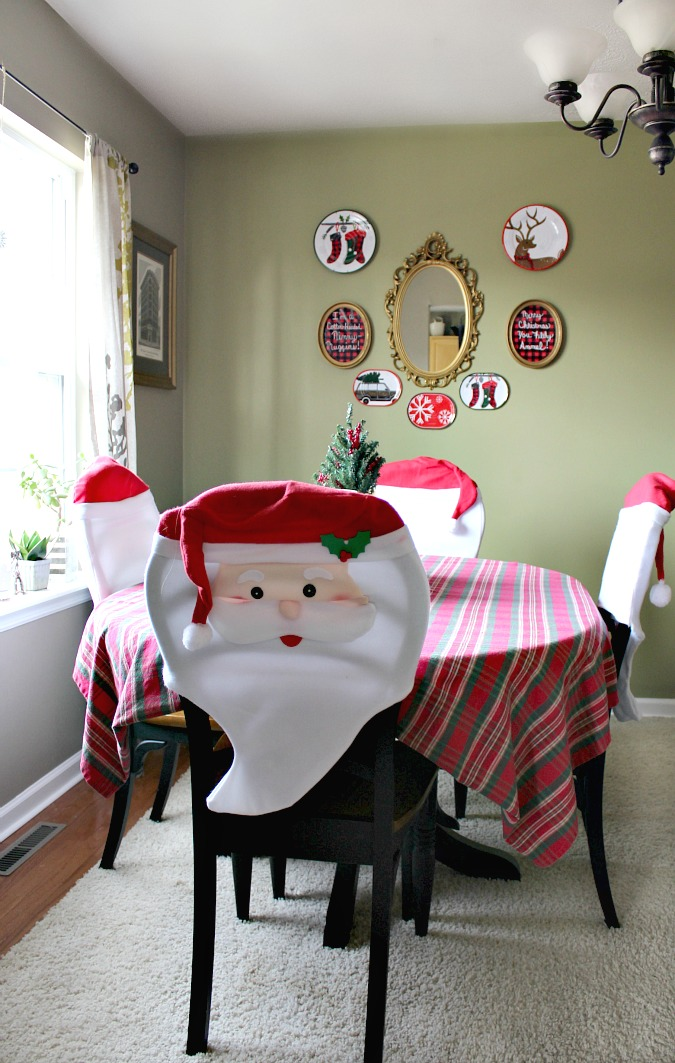 Christmas in my dining room/office