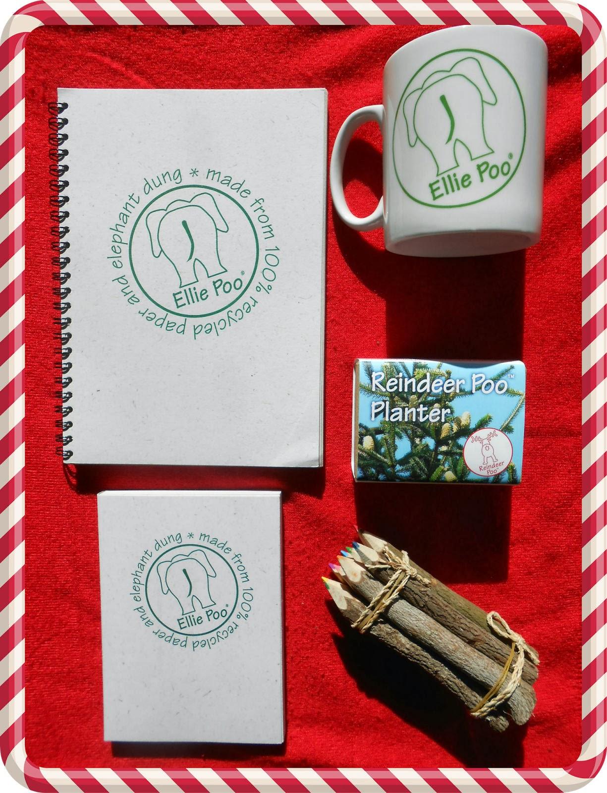 Notepad Mug Pencils & Reindeer Planter