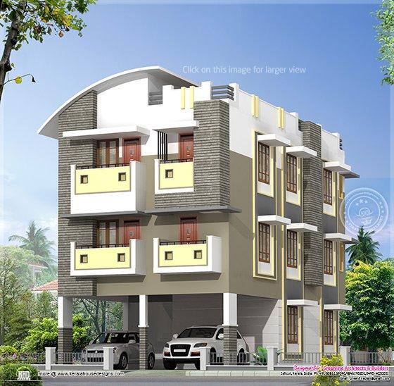 3 story home design