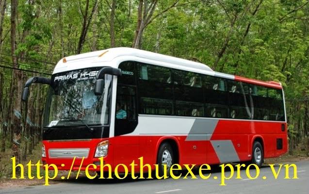 Cho thuê xe: Thuê xe giường nằm giá rẻ tại Hà Nội