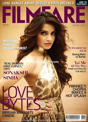 Bipasha Basu on the Cover Page of Filmfare Middle East