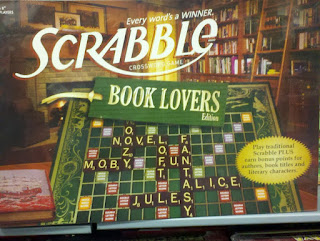 Book Lovers Edition Scrabble