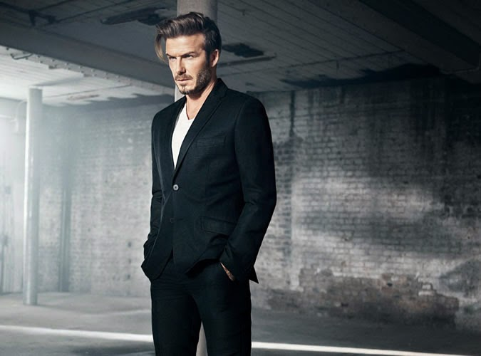 H&M Modern Essentials Menswear Spring 2015 Campaign featuring David Beckham