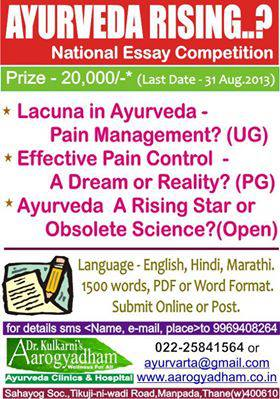 national essay writing competition india 2013
