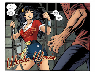 Page 12 from DC Comics Bombshells #18 featuring Wonder Woman