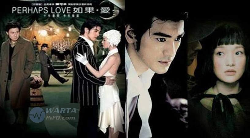 Sinopsis Foto poster Perhaps Love 2005 movie film romantis Mandarin  terbaik