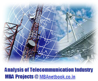 Project on Analysis of Telecommunication Industry