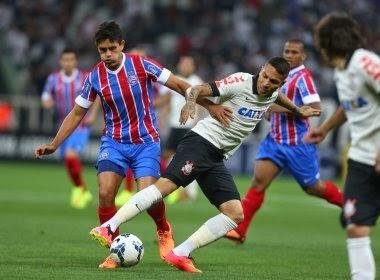Sonhando em permanência na série A, Bahia encara o Corinthians na Fonte Nova