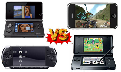 Nintendo DS vs PSP Graphics