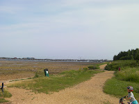 hayling island seen from reclaimed land common eastern road portsmouth