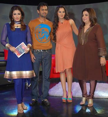 saniya mirza at ndtv tv program glamour  images
