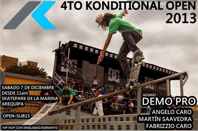 4to Konditional Open 2013 - 07 diciembre