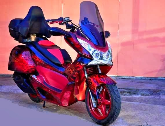 Foto Modifikasi Honda PCX 125