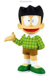 Suneo Honekawa (Doraemon) Rambut Anime