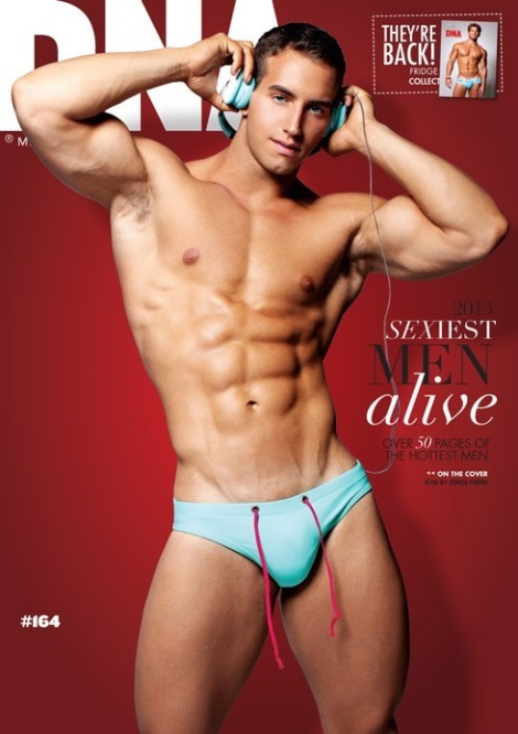 Jose Ruiz Covers DNA Magazine