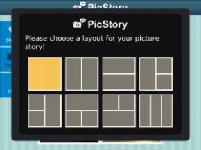 PicStory Menggabungkan Foto di BlackBerry