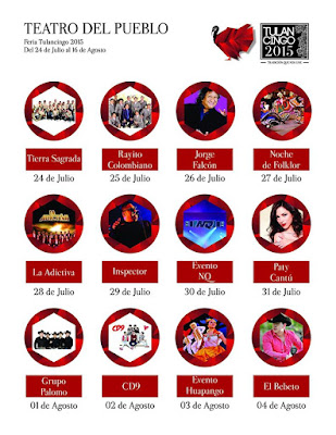 artistas feria tulancingo 2015