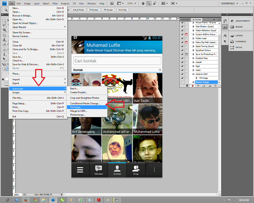 Automate Bath Adobe Photoshop