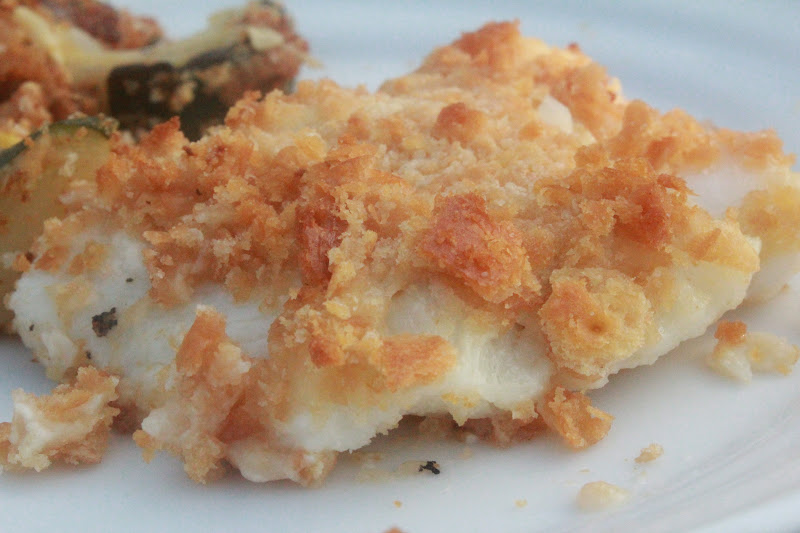 how to bake cod fish with breadcrumbs