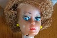 Rödhåriga barbie