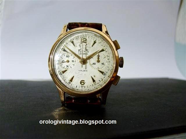 orologio titus oro