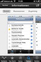 Ansicht App DVBLive
