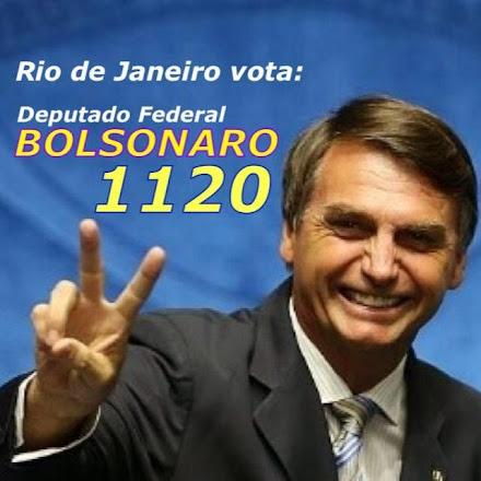 DEPUTADO PELO ESTADO DO RIO DE JANEIRO  BOLSANARO