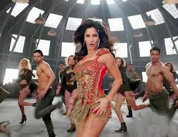 Hot and sexy katrina kaif in Red Dresh dhoom 3 movie