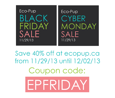 Eco-Pup Dog Clothing Black Friday Cyber Monday sale