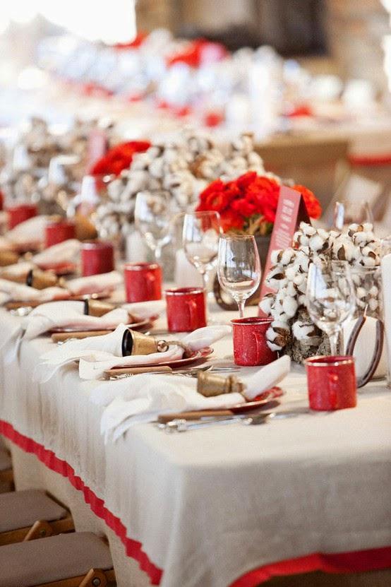 Noiva Com Classe 45 Arranjos De Mesa Natal Festa E