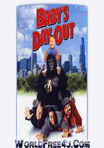 Poster Of Baby's Day Out (1994) In Hindi English Dual Audio 300MB Compressed Small Size Pc Movie Free Download Only At worldfree4u.com