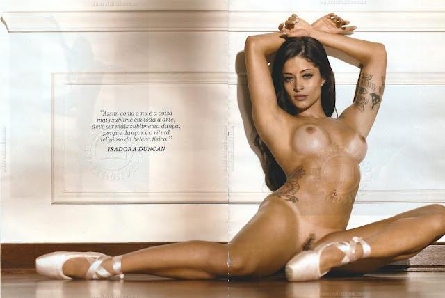 Aline Riscado Pletamente Nua Na Playboy Confira Todas As Fotos