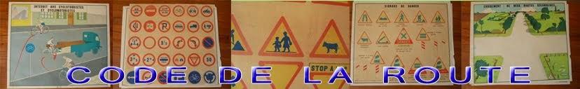 Affiches scolaire : Code de la route